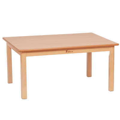 Wooden Table Rectangular Small 960 x 695mm