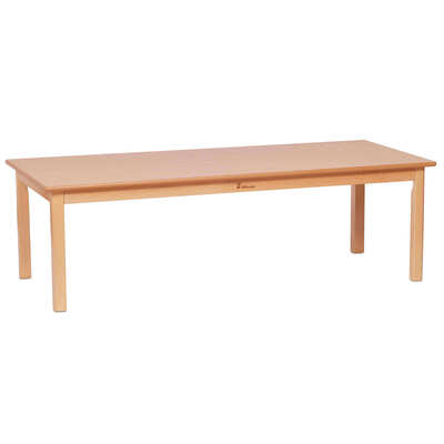 Wooden Table Rectangular Large 1500 x 695mm