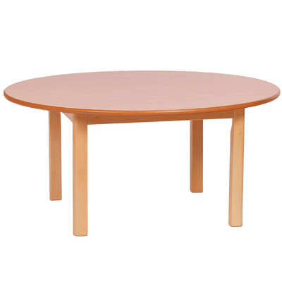 Wooden Table Circular 1000mm
