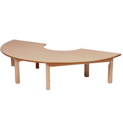 Wooden Table Semi Circle 1630 x 560mm