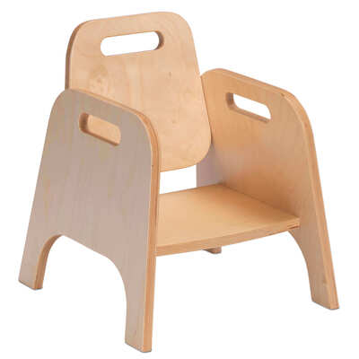 Wooden Sturdy Chair 4 Pack