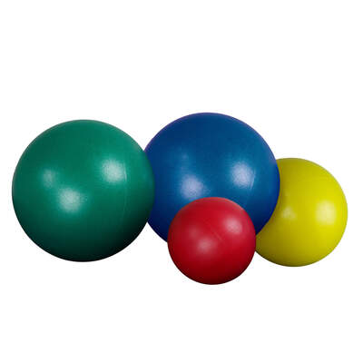 Soft Inflatable Ball Assorted 4 Pack