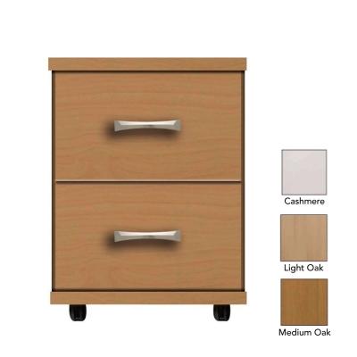 Somerset 2 Drawer Bedside Table