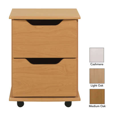 Wiltshire 2 Drawer Bedside Table