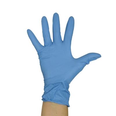Nitrile Examination Gloves Powder Free Blue 100 Pack