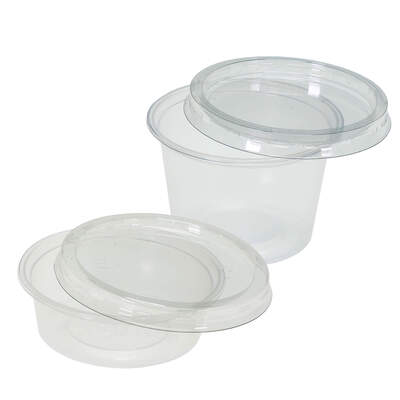 Containers and Lids 100 Pack