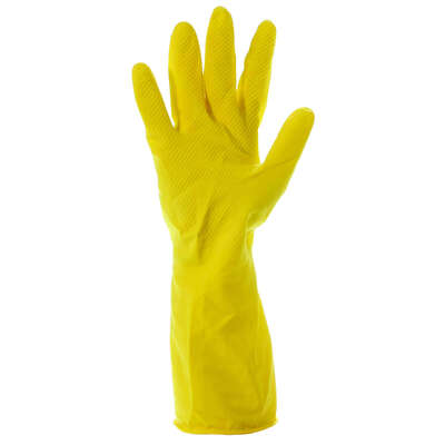 Household Rubber Gloves Yellow 10 Pack