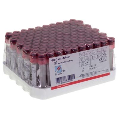 BD Vacutainer Tube Serum 100 Pack