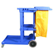 Free Wet Floor Sign With Trolley 12617