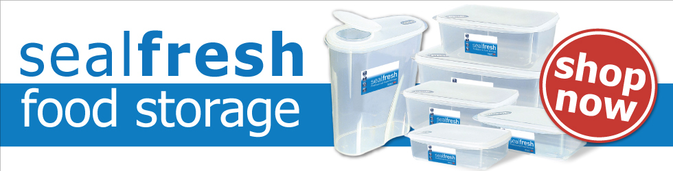 New Sealfresh food storage, click here to shop!