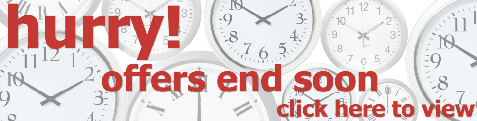 Hurry! Offers end soon