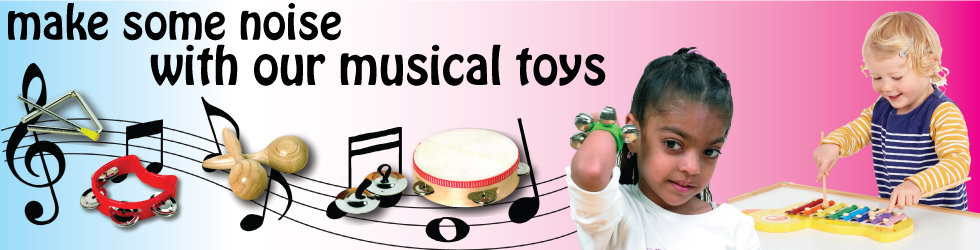 Make some noise with out musical toys!