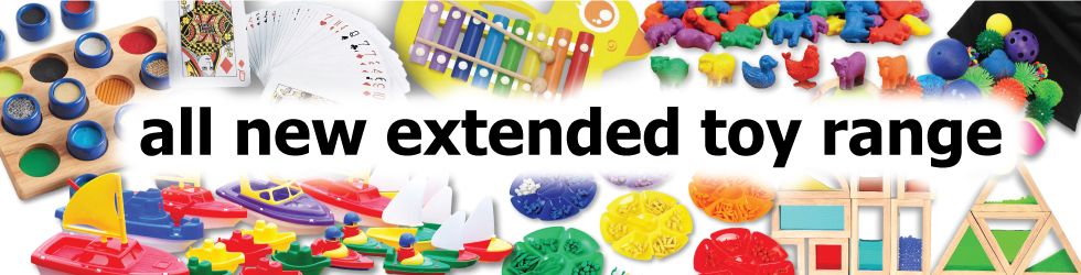 New Extended Toy Range - OUT NOW!