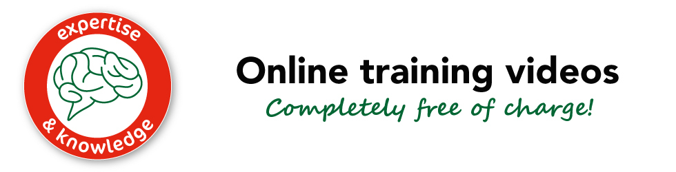 Online training videos