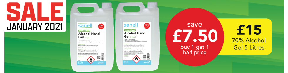 JAN SALE 5L ALCOHOL GEL