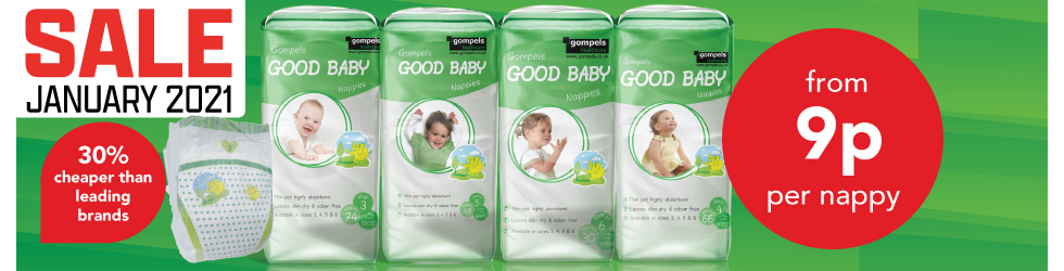 JAN SALE BABY NAPPIES