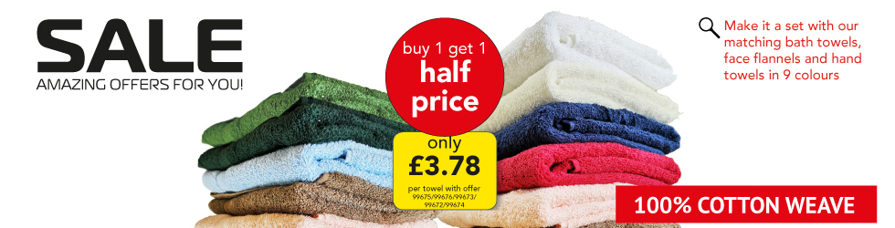 GREAT VALUE BATH TOWELS AND FLANNELS