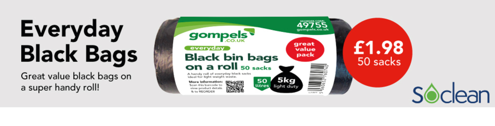 BLACK BAGS ON A ROLL