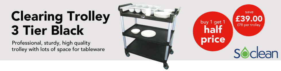 WEEKLY - CLEARING TROLLEY