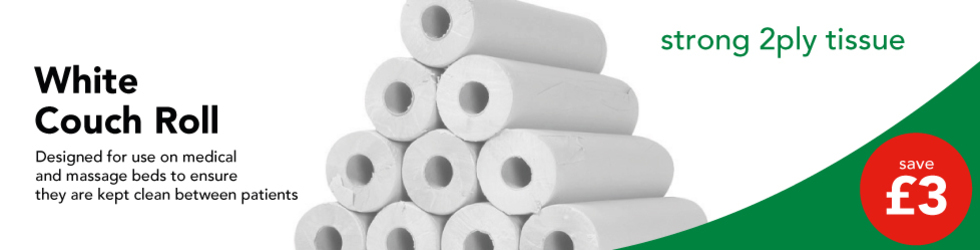 SAVE £3 WHITE COUCH ROLLS