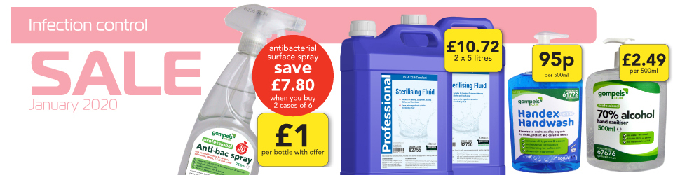 INFECTION CONTROL SALE